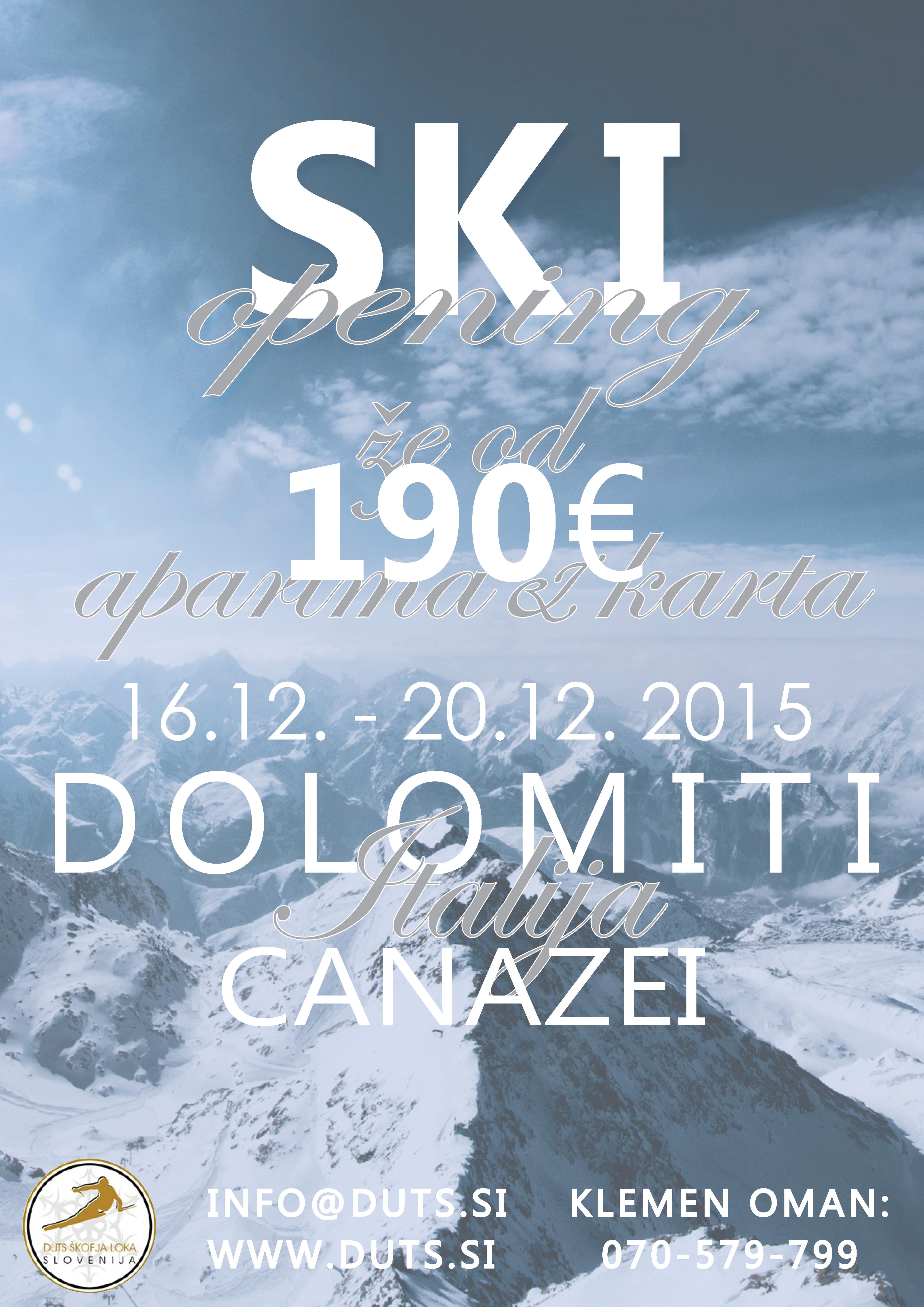 DUTS Ski Opening 2018